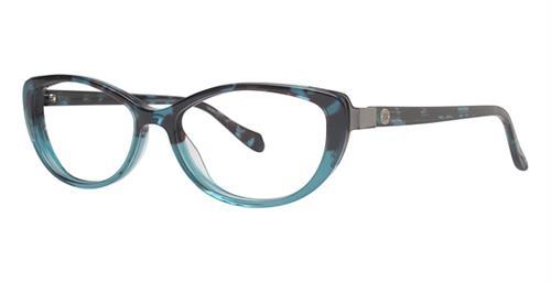 Leon Max eyewear 4010-Teal/Tortoise