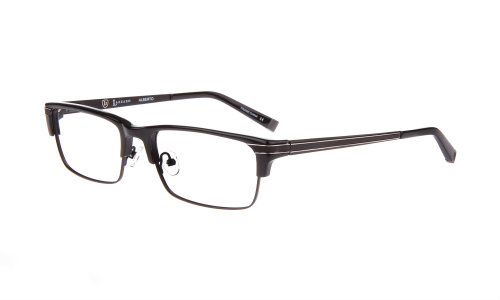 Lazzaro eywear alberto black mens trendy frames
