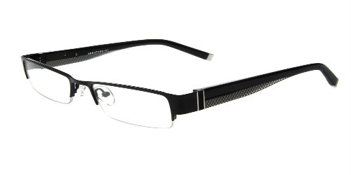 Lazzaro eyewear Angelo black mens trendy frames