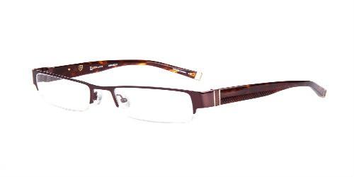 Lazzaro eyewear angelo deep brown mens trendy frames