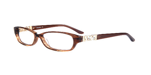 nicole designs Paris-brown plastic frame