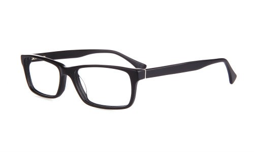 Wide Guyz eyewear Sonny black Large eyesize frames