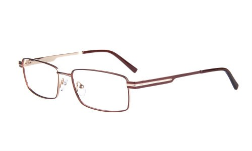 Wide Guyz eyewear Lucky brown large eyesize frames